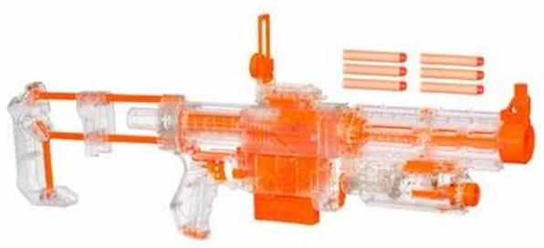 Clear Special Edition Nerf N-Strike Recon CS-6