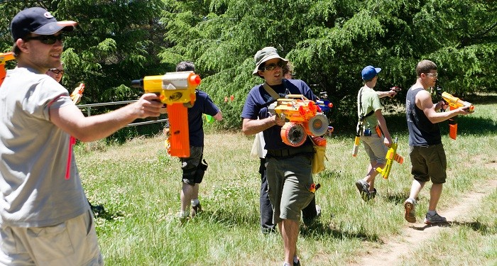 5 Games that Are a Blast to Play with Nerf Guns