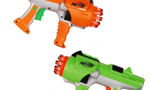 Nerf Hyperfire Dart Tag Blaster