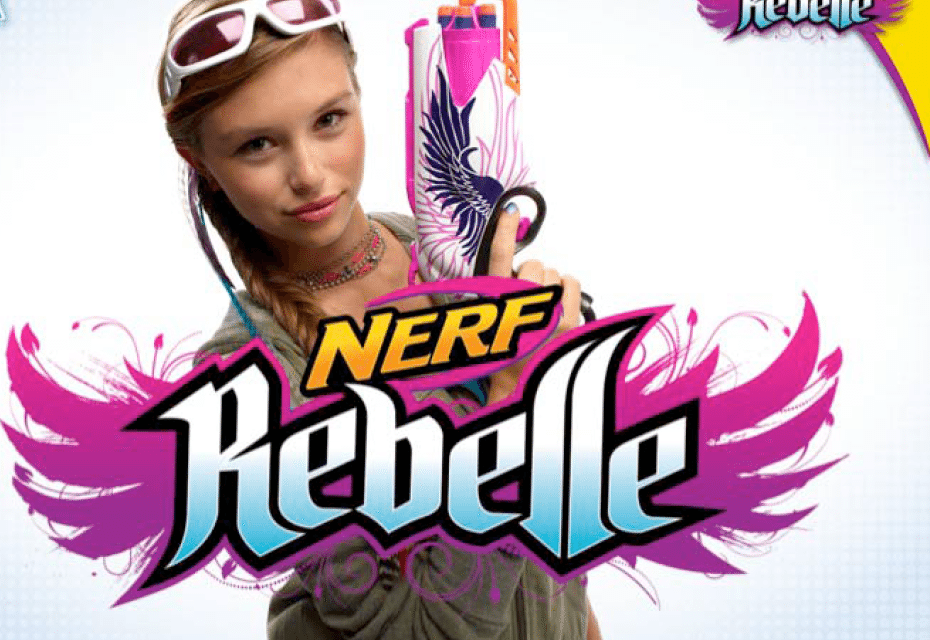 New Nerf Rebelle Series Is a Great Option for Girls