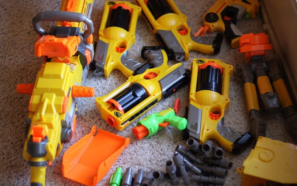 Community Comes together for Nerf Wars