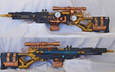 Nerf Mod Inspiration: Steampunk
