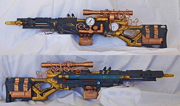 longstrike steampunk blaster