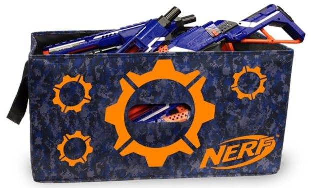 Ideas for Storing Your Nerf Arsenal