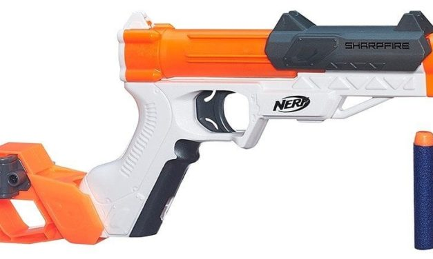 Check out the Nerf N-Strike Elite SharpFire