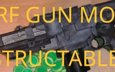 Bored? Here's 15 Nerf Gun Mods on Instructables.com For You to Try!