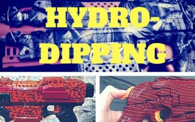 How to Hydro-Dip Nerf Guns